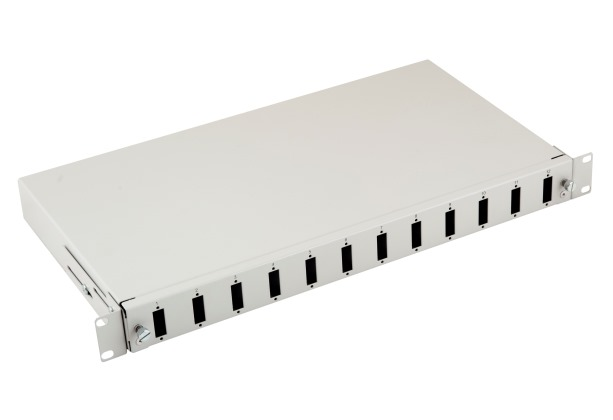 "Opteco 19"" 1U Fiber Optik Patch Panel - 12 port SC Duplex  Kapasiteli - boş"